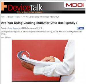 Are You Using Leading Indicator Data Intelligently