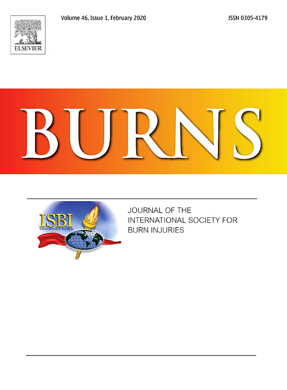 Burns: Comparison of the efficacy of silver-based antimicrobial burn dressings in a p...