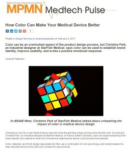 Color Can Make Your Medical Device Better