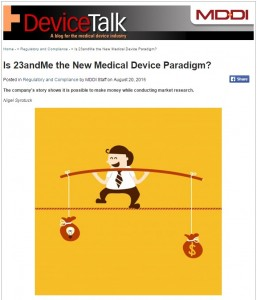 New Medical Device Paradigm?