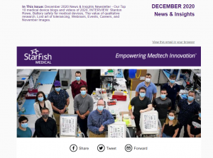 December 2020 Medtech News + Insights