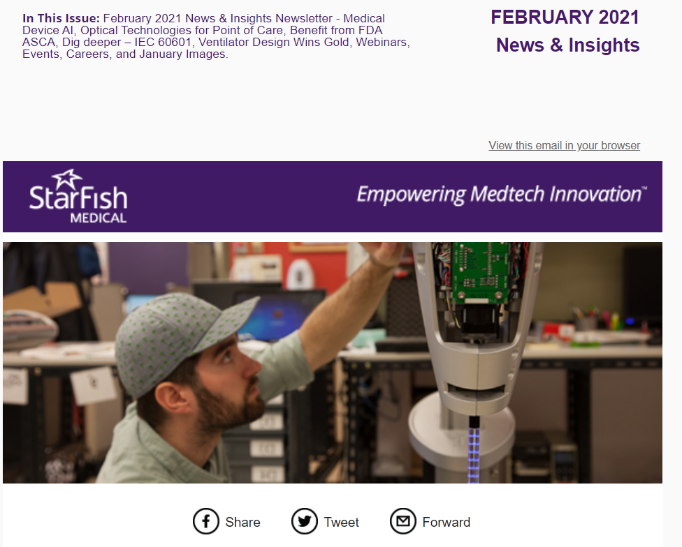 February 2021 Medtech News & Insights