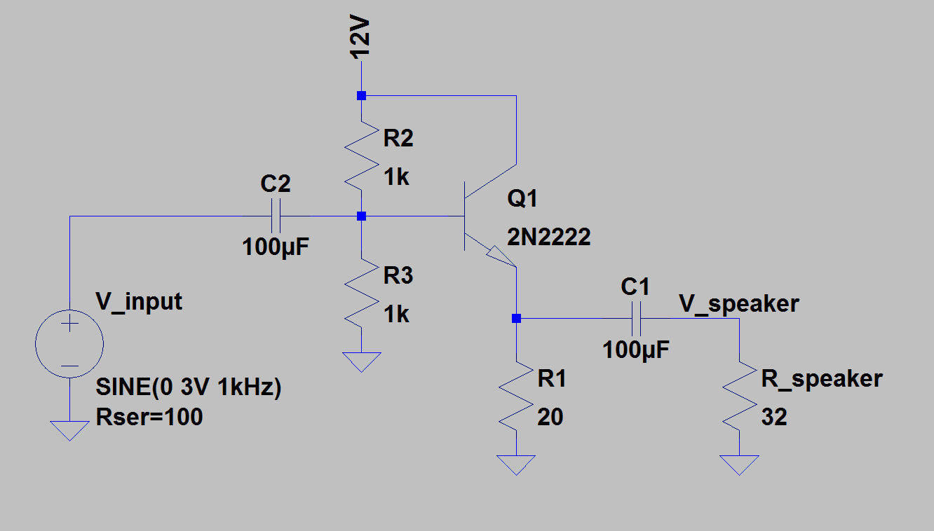 Benefits Of Using Mlcc Multi Layer Ceramic Chip Capacitor Circuit 2n2222 Consider The Following Emitter Follower Used As A Buffer Amplifier For Small Speaker