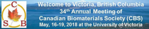 2018 Canadian Biomaterials Society Annual meeting