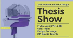 2018 Humber Industrial Design Thesis Show
