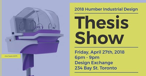 humber industrial design thesis show 2017