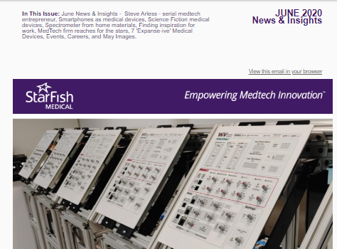 StarFish Medical June 2020 Medtech News + Insight