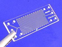 Glass-microreactor-chip-micronit Source wikipedia