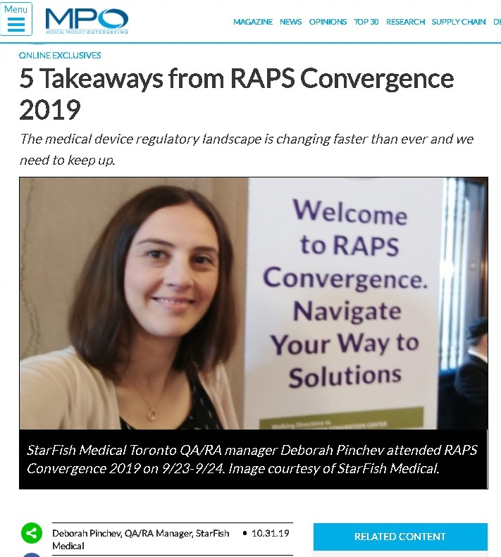 5 Takeaways from RAPS Convergence 2019