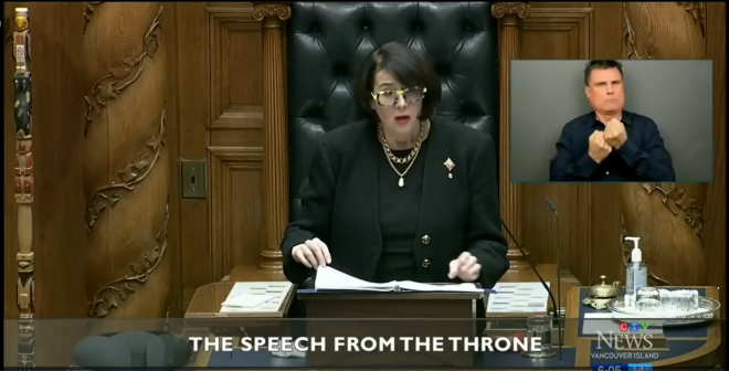 2021 B.C. Speech from the throne includes StarFish Medical effort