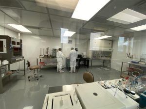 Cleanroom in Toronto Facility