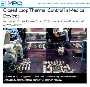 Closed Loop Thermal Control