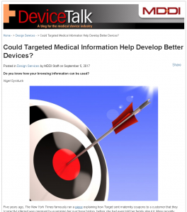 Targeted Medical Information