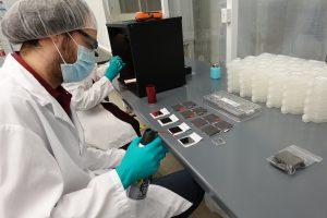 Optics handling during manufacturing