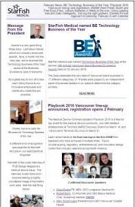 February StarFIsh Medical News