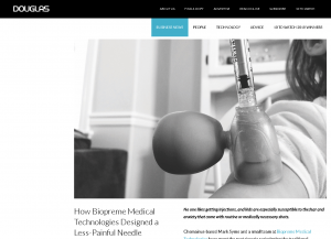 How Biopreme Medical Technologies Designed a Less-Painful Needle