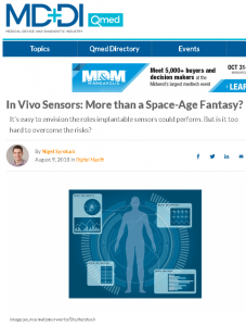 In Vivo Sensors