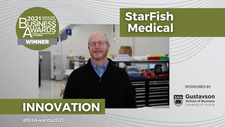 StarFish Medical Receives Innovation Award