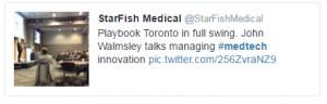 John at PB Toronto tweet