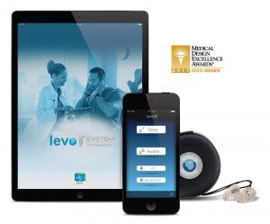The award-winning Levo System tinnitus therapy (PRNewsfoto/Otoharmonics)