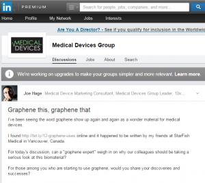 LinkedIn Graphene