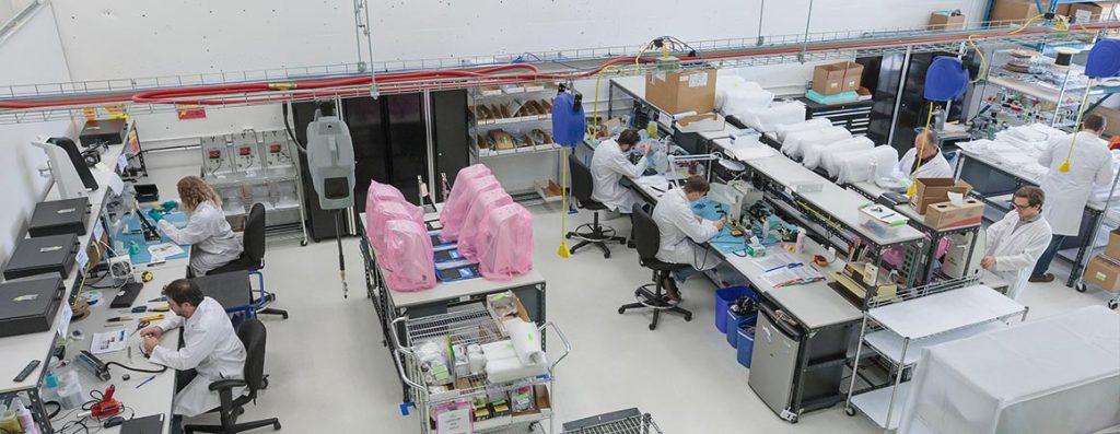 Manufacturing Floor StarFish Medical