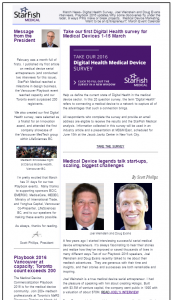 March 2016 StarFish Medical Newsletter