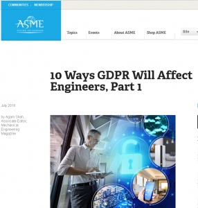 GDPR Will Affect Engineers
