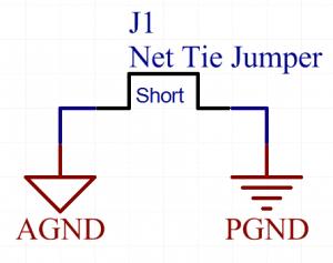 PCB design tips Net tie jumper