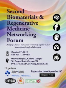 Second Biomaterials Networking Symposium