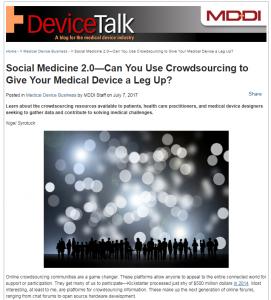 Social Medicine 2.0