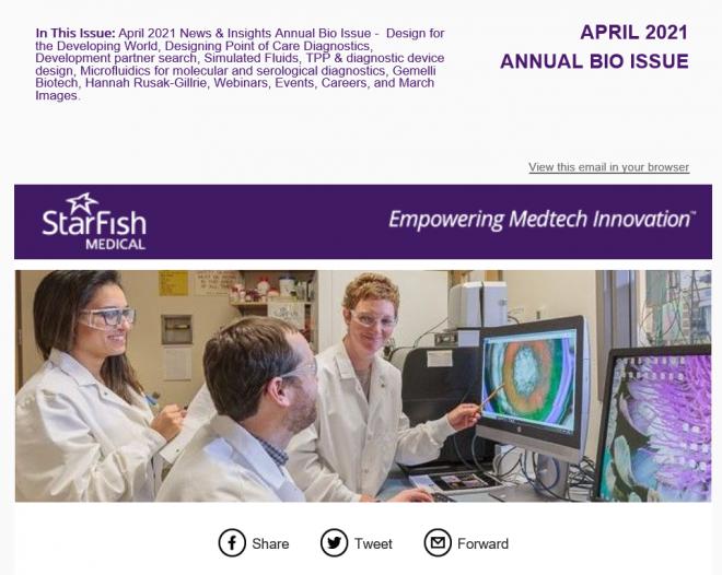 April 2021 Medtech News & Annual Bio Issue
