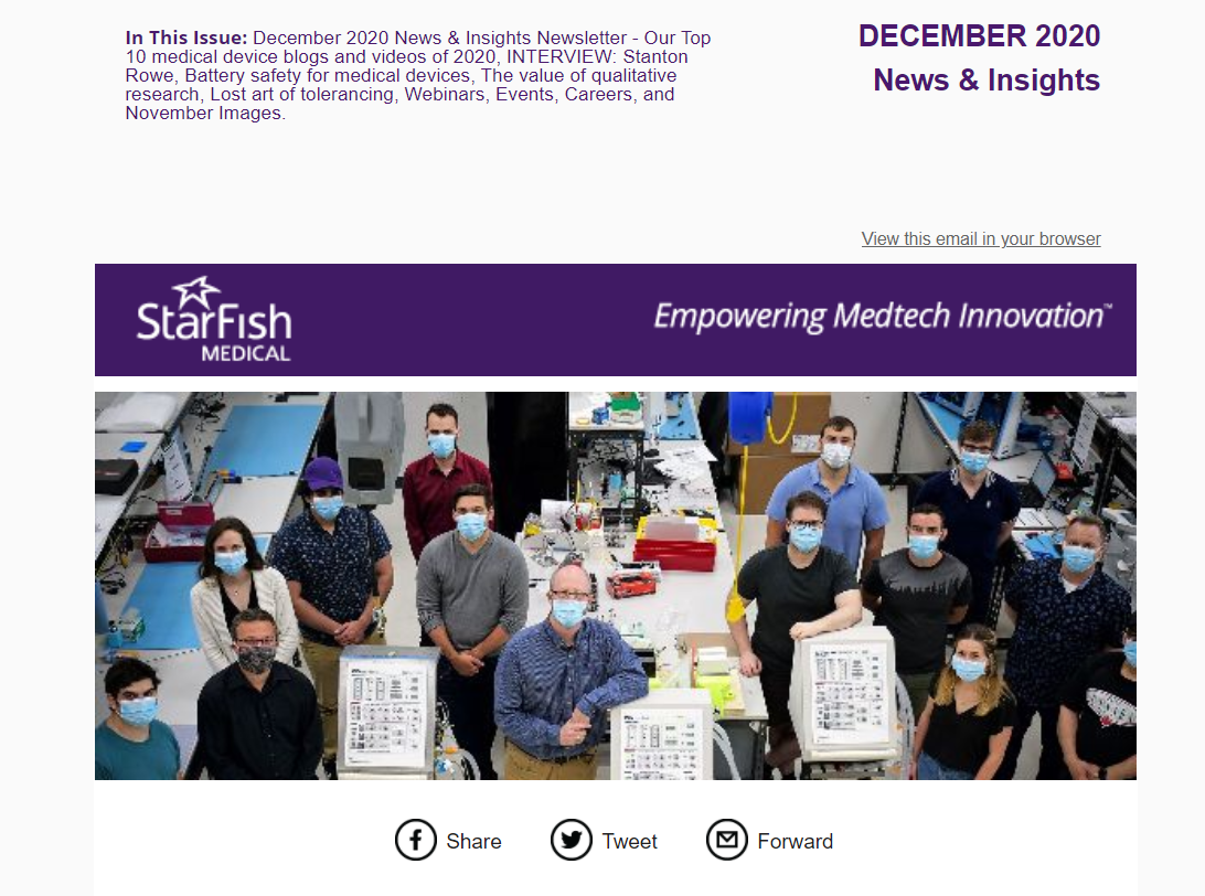 DECEMBER 2020 Medtech News & Insight