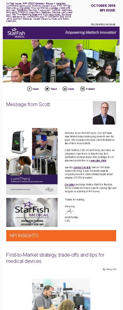 StarFish Medical NPI