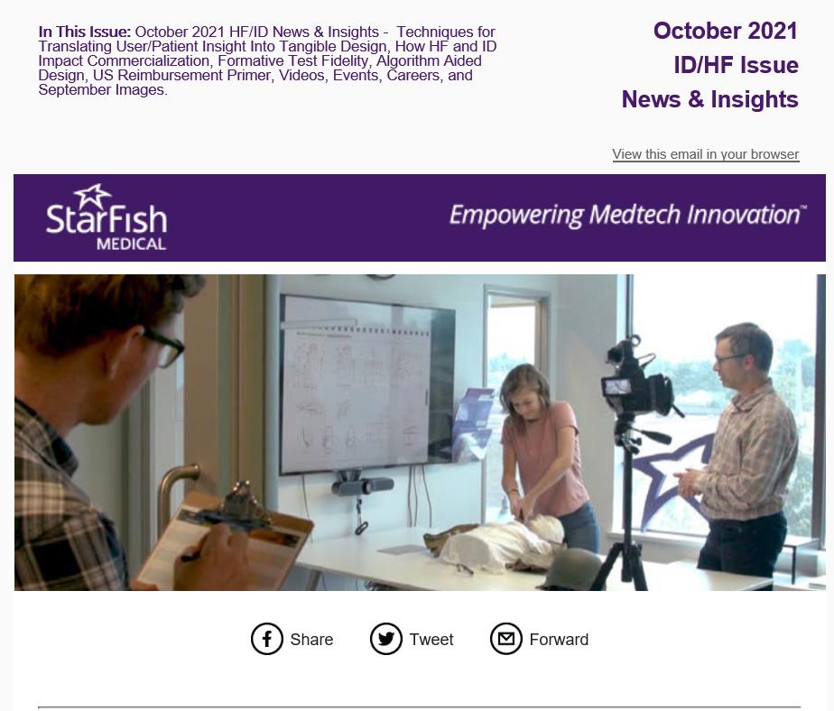 October 2021 ID/HF News & Insight