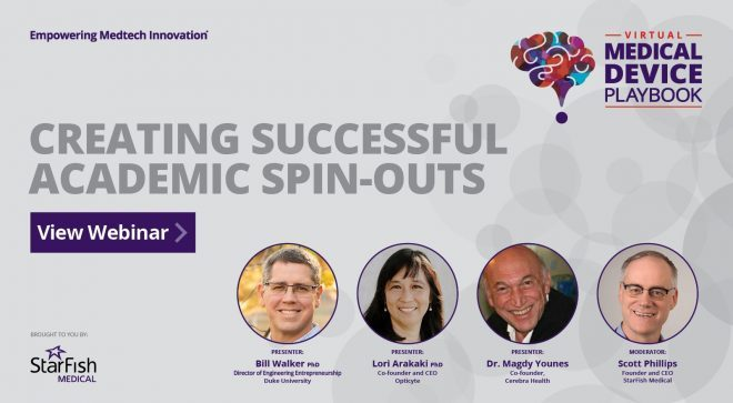 Creating a Successful Academic Spin-Out – View Webinar Recording