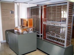 The Z3 included floating-point arithmetic: Nachbau der Zuse Z3 im Deutschen Museum in München