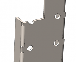 avoid hole distortion in sheet metal parts