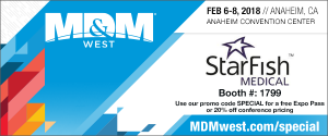 StarFish Medical at MD&M West Expo 2018